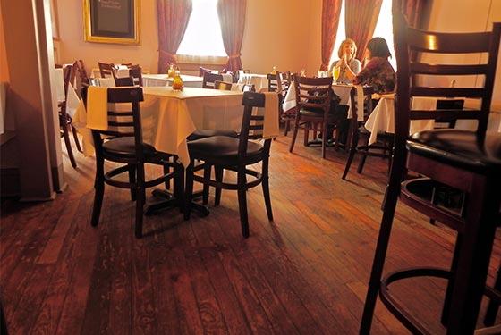 Boucherie New Orleans Restaurant Interior